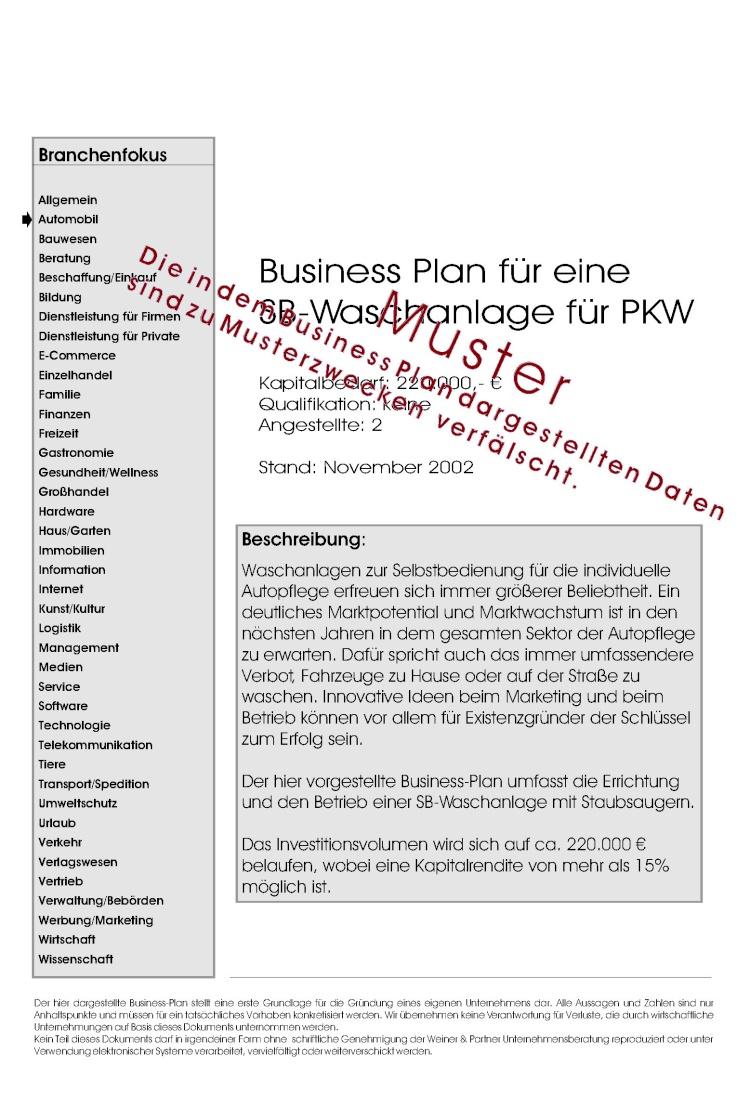 Beliebt Bevorzugt Fabelhaft Fertiger Businessplan Beispiel @TZ23 | Startupjobsfa @EU_76